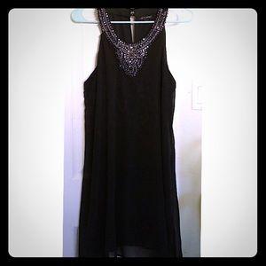 As U Wish black dress
